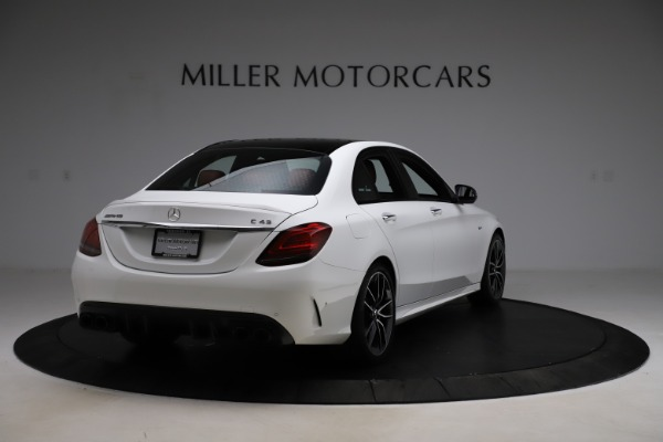 Used 2019 Mercedes-Benz C-Class AMG C 43 for sale $52,990 at Rolls-Royce Motor Cars Greenwich in Greenwich CT 06830 8