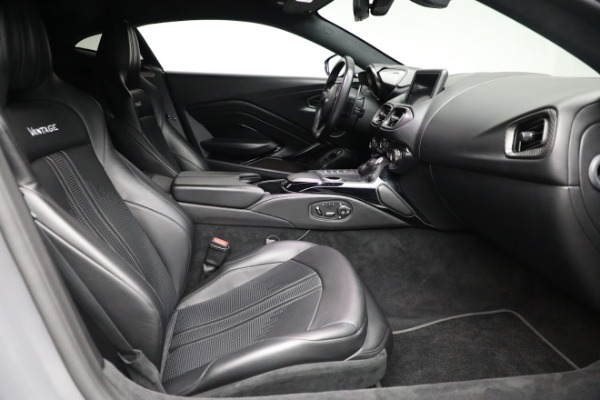 Used 2019 Aston Martin Vantage for sale $129,900 at Rolls-Royce Motor Cars Greenwich in Greenwich CT 06830 17