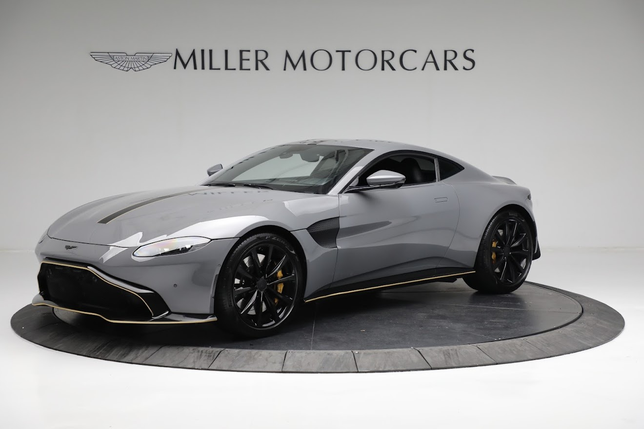 Used 2019 Aston Martin Vantage Coupe for sale $129,900 at Rolls-Royce Motor Cars Greenwich in Greenwich CT 06830 1
