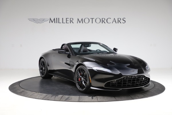 New 2021 Aston Martin Vantage Roadster for sale Sold at Rolls-Royce Motor Cars Greenwich in Greenwich CT 06830 10