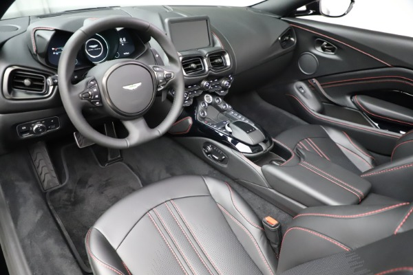 New 2021 Aston Martin Vantage Roadster for sale Sold at Rolls-Royce Motor Cars Greenwich in Greenwich CT 06830 13