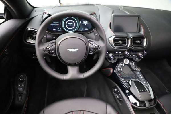 New 2021 Aston Martin Vantage Roadster for sale Sold at Rolls-Royce Motor Cars Greenwich in Greenwich CT 06830 17