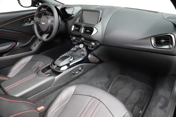 New 2021 Aston Martin Vantage Roadster for sale Sold at Rolls-Royce Motor Cars Greenwich in Greenwich CT 06830 18