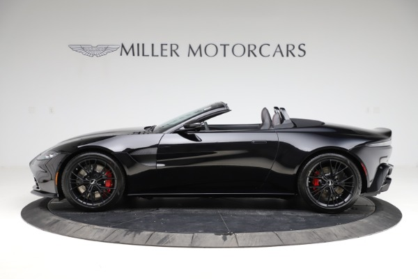 New 2021 Aston Martin Vantage Roadster for sale Sold at Rolls-Royce Motor Cars Greenwich in Greenwich CT 06830 2