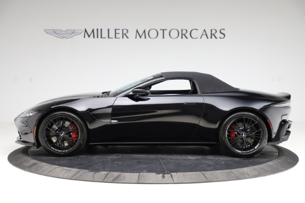 New 2021 Aston Martin Vantage Roadster Convertible for sale $189,186 at Rolls-Royce Motor Cars Greenwich in Greenwich CT 06830 28