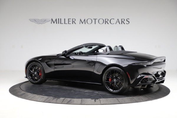 New 2021 Aston Martin Vantage Roadster Convertible for sale $189,186 at Rolls-Royce Motor Cars Greenwich in Greenwich CT 06830 3