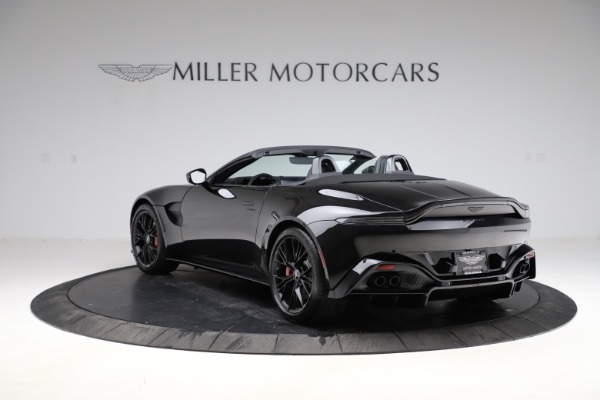 New 2021 Aston Martin Vantage Roadster Convertible for sale $189,186 at Rolls-Royce Motor Cars Greenwich in Greenwich CT 06830 4
