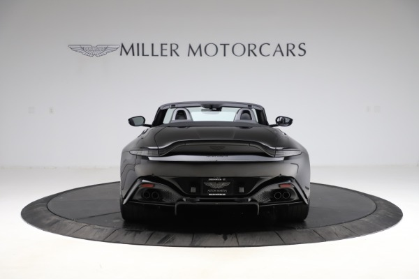 New 2021 Aston Martin Vantage Roadster for sale Sold at Rolls-Royce Motor Cars Greenwich in Greenwich CT 06830 5