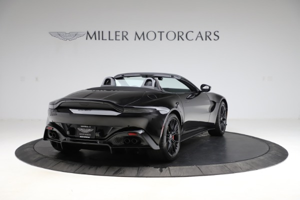 New 2021 Aston Martin Vantage Roadster Convertible for sale $189,186 at Rolls-Royce Motor Cars Greenwich in Greenwich CT 06830 6