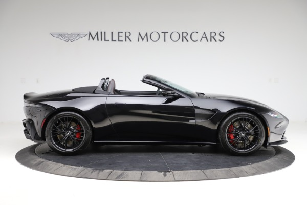 New 2021 Aston Martin Vantage Roadster for sale Sold at Rolls-Royce Motor Cars Greenwich in Greenwich CT 06830 8