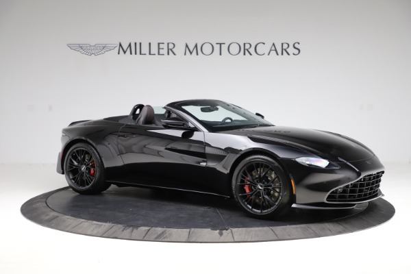 New 2021 Aston Martin Vantage Roadster Convertible for sale $189,186 at Rolls-Royce Motor Cars Greenwich in Greenwich CT 06830 9