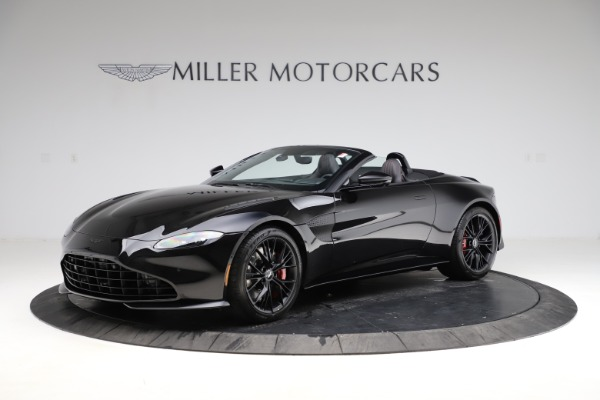 New 2021 Aston Martin Vantage Roadster Convertible for sale $189,186 at Rolls-Royce Motor Cars Greenwich in Greenwich CT 06830 1