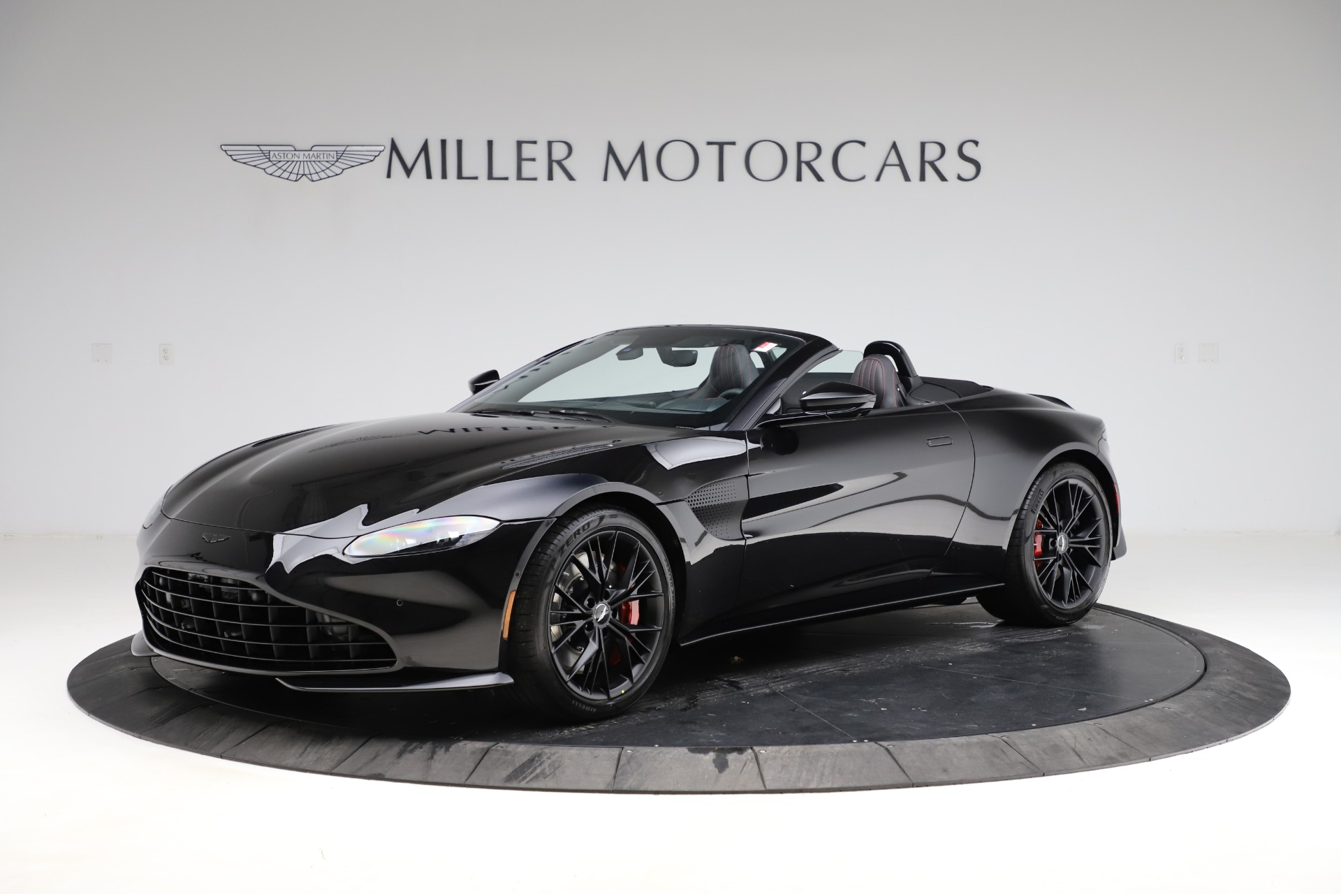 New 2021 Aston Martin Vantage Roadster for sale Sold at Rolls-Royce Motor Cars Greenwich in Greenwich CT 06830 1