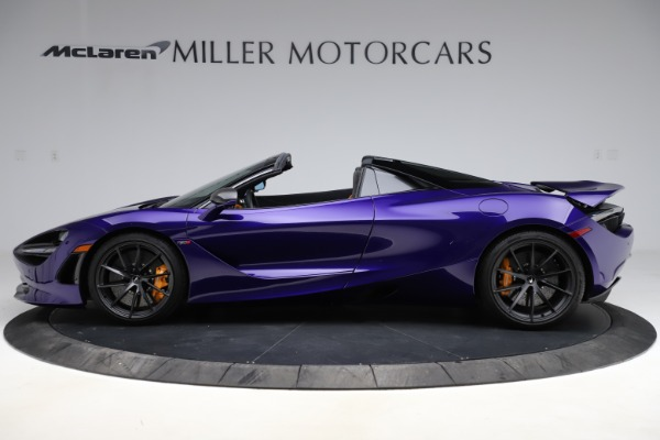Used 2020 McLaren 720S Spider for sale Call for price at Rolls-Royce Motor Cars Greenwich in Greenwich CT 06830 11