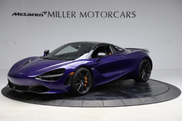 Used 2020 McLaren 720S Spider for sale Call for price at Rolls-Royce Motor Cars Greenwich in Greenwich CT 06830 12