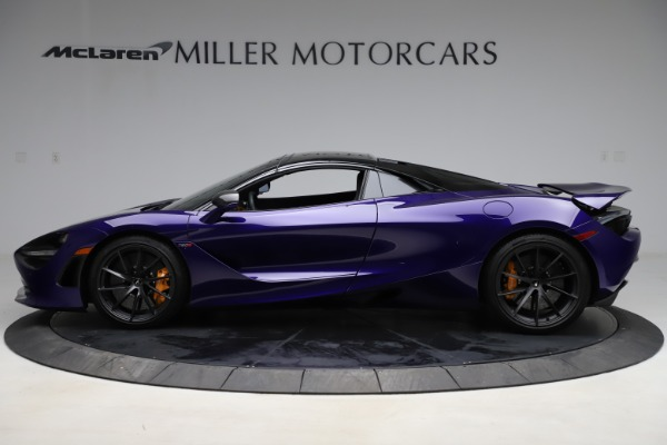 Used 2020 McLaren 720S Spider for sale Call for price at Rolls-Royce Motor Cars Greenwich in Greenwich CT 06830 18
