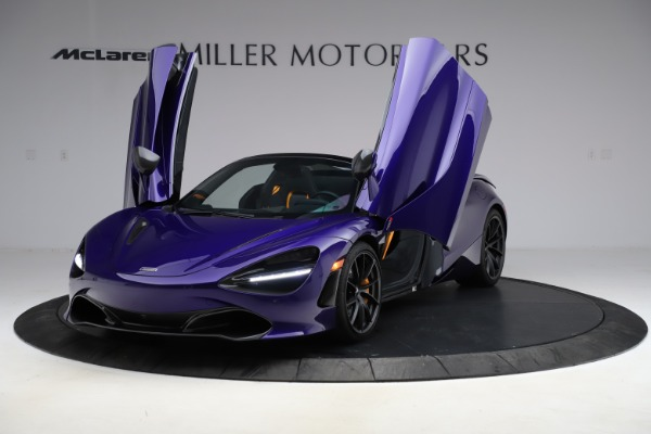 Used 2020 McLaren 720S Spider for sale Call for price at Rolls-Royce Motor Cars Greenwich in Greenwich CT 06830 19