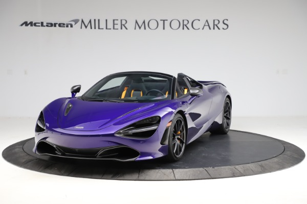 Used 2020 McLaren 720S Spider for sale Call for price at Rolls-Royce Motor Cars Greenwich in Greenwich CT 06830 2