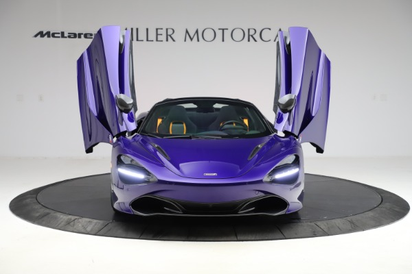 Used 2020 McLaren 720S Spider for sale Call for price at Rolls-Royce Motor Cars Greenwich in Greenwich CT 06830 20