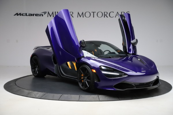 Used 2020 McLaren 720S Spider for sale Call for price at Rolls-Royce Motor Cars Greenwich in Greenwich CT 06830 21