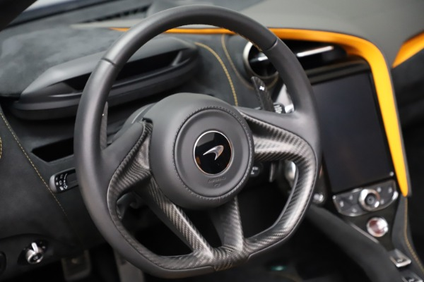 Used 2020 McLaren 720S Spider for sale Call for price at Rolls-Royce Motor Cars Greenwich in Greenwich CT 06830 23