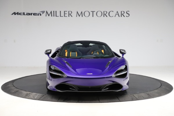 Used 2020 McLaren 720S Spider for sale Call for price at Rolls-Royce Motor Cars Greenwich in Greenwich CT 06830 3