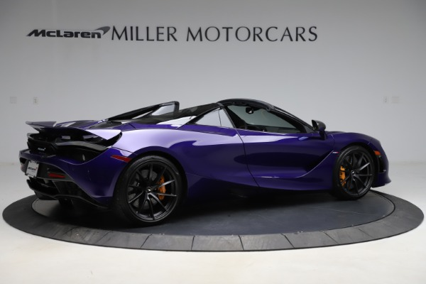Used 2020 McLaren 720S Spider for sale Call for price at Rolls-Royce Motor Cars Greenwich in Greenwich CT 06830 7