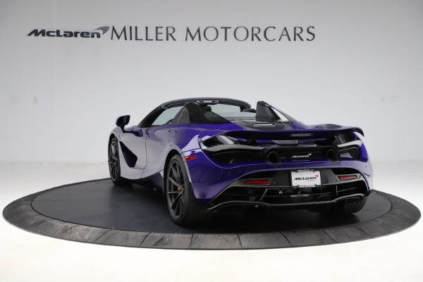Used 2020 McLaren 720S Spider for sale Call for price at Rolls-Royce Motor Cars Greenwich in Greenwich CT 06830 9