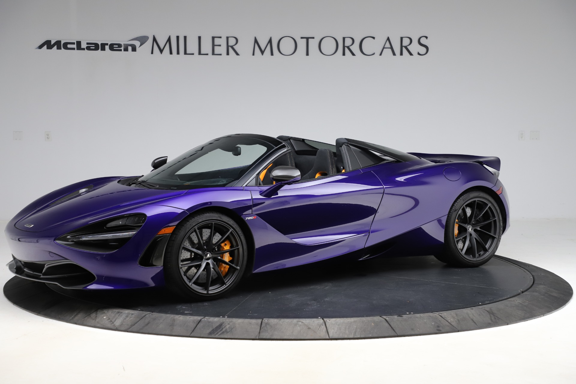 Used 2020 McLaren 720S Spider for sale Call for price at Rolls-Royce Motor Cars Greenwich in Greenwich CT 06830 1