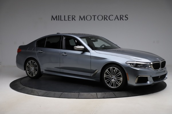 Used 2018 BMW 5 Series M550i xDrive for sale $49,900 at Rolls-Royce Motor Cars Greenwich in Greenwich CT 06830 10