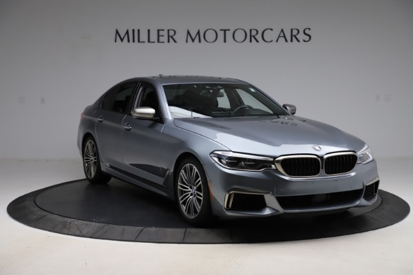 Used 2018 BMW 5 Series M550i xDrive for sale $49,900 at Rolls-Royce Motor Cars Greenwich in Greenwich CT 06830 11