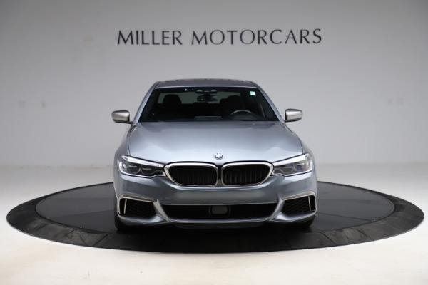Used 2018 BMW 5 Series M550i xDrive for sale $49,900 at Rolls-Royce Motor Cars Greenwich in Greenwich CT 06830 12