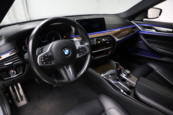 Used 2018 BMW 5 Series M550i xDrive for sale $49,900 at Rolls-Royce Motor Cars Greenwich in Greenwich CT 06830 13