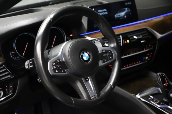 Used 2018 BMW 5 Series M550i xDrive for sale $49,900 at Rolls-Royce Motor Cars Greenwich in Greenwich CT 06830 16