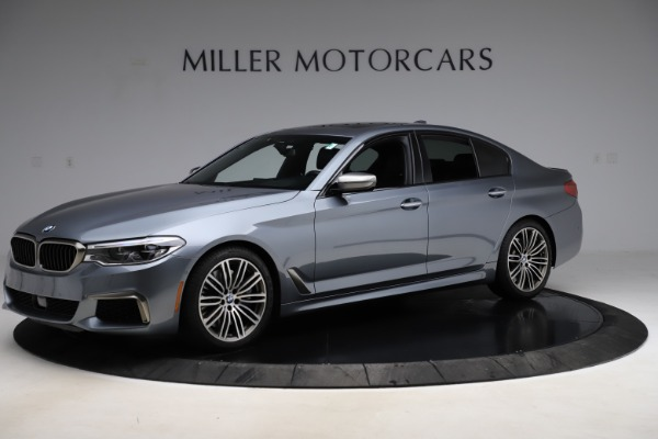 Used 2018 BMW 5 Series M550i xDrive for sale $49,900 at Rolls-Royce Motor Cars Greenwich in Greenwich CT 06830 2