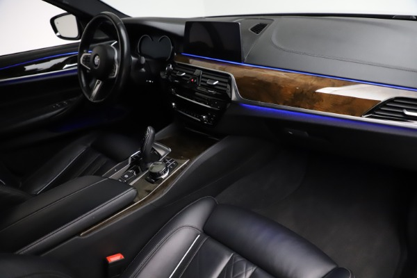 Used 2018 BMW 5 Series M550i xDrive for sale $49,900 at Rolls-Royce Motor Cars Greenwich in Greenwich CT 06830 20