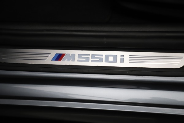 Used 2018 BMW 5 Series M550i xDrive for sale $49,900 at Rolls-Royce Motor Cars Greenwich in Greenwich CT 06830 24