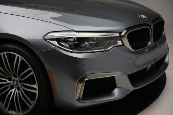 Used 2018 BMW 5 Series M550i xDrive for sale $49,900 at Rolls-Royce Motor Cars Greenwich in Greenwich CT 06830 28