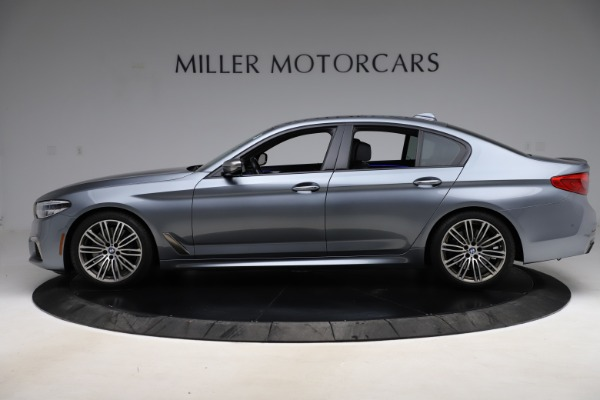 Used 2018 BMW 5 Series M550i xDrive for sale $49,900 at Rolls-Royce Motor Cars Greenwich in Greenwich CT 06830 3
