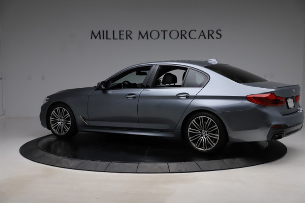 Used 2018 BMW 5 Series M550i xDrive for sale $49,900 at Rolls-Royce Motor Cars Greenwich in Greenwich CT 06830 4