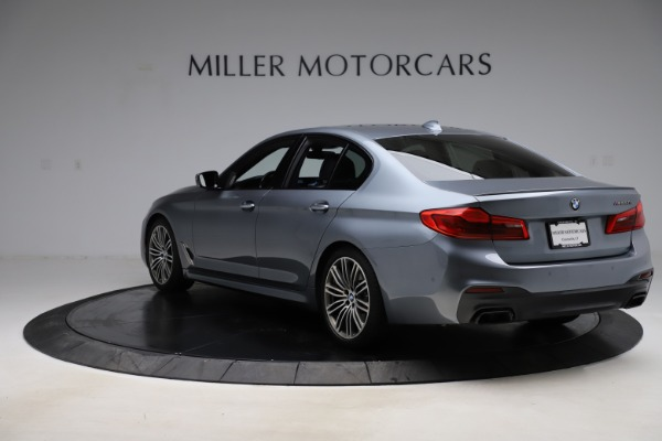 Used 2018 BMW 5 Series M550i xDrive for sale $49,900 at Rolls-Royce Motor Cars Greenwich in Greenwich CT 06830 5