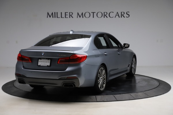 Used 2018 BMW 5 Series M550i xDrive for sale $49,900 at Rolls-Royce Motor Cars Greenwich in Greenwich CT 06830 7