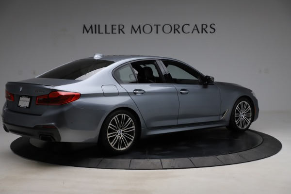 Used 2018 BMW 5 Series M550i xDrive for sale $49,900 at Rolls-Royce Motor Cars Greenwich in Greenwich CT 06830 8