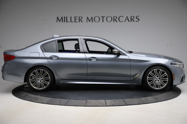 Used 2018 BMW 5 Series M550i xDrive for sale $49,900 at Rolls-Royce Motor Cars Greenwich in Greenwich CT 06830 9