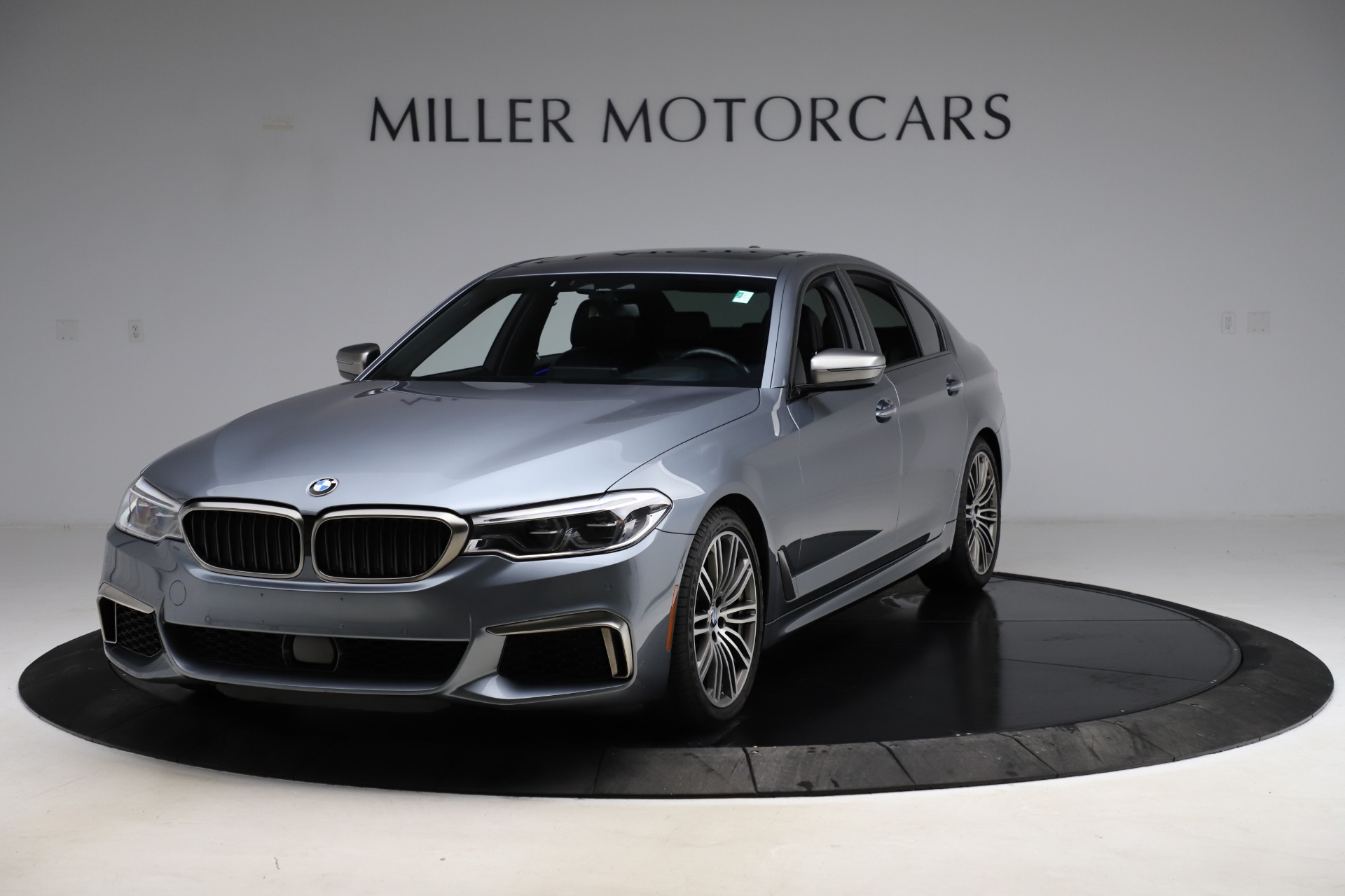 Used 2018 BMW 5 Series M550i xDrive for sale $49,900 at Rolls-Royce Motor Cars Greenwich in Greenwich CT 06830 1