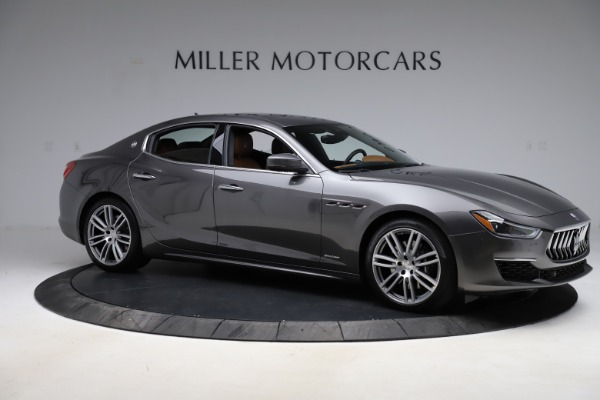 Used 2018 Maserati Ghibli SQ4 GranLusso for sale Call for price at Rolls-Royce Motor Cars Greenwich in Greenwich CT 06830 10