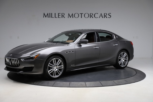 Used 2018 Maserati Ghibli SQ4 GranLusso for sale Call for price at Rolls-Royce Motor Cars Greenwich in Greenwich CT 06830 2