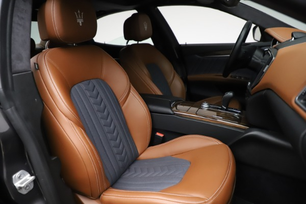 Used 2018 Maserati Ghibli SQ4 GranLusso for sale Call for price at Rolls-Royce Motor Cars Greenwich in Greenwich CT 06830 23