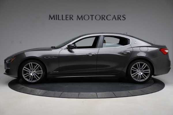 Used 2018 Maserati Ghibli SQ4 GranLusso for sale Call for price at Rolls-Royce Motor Cars Greenwich in Greenwich CT 06830 3