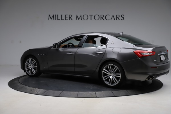 Used 2018 Maserati Ghibli SQ4 GranLusso for sale Call for price at Rolls-Royce Motor Cars Greenwich in Greenwich CT 06830 4